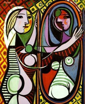 Ragazza davanti allo specchio picasso redazione siani - Ragazza davanti allo specchio ...